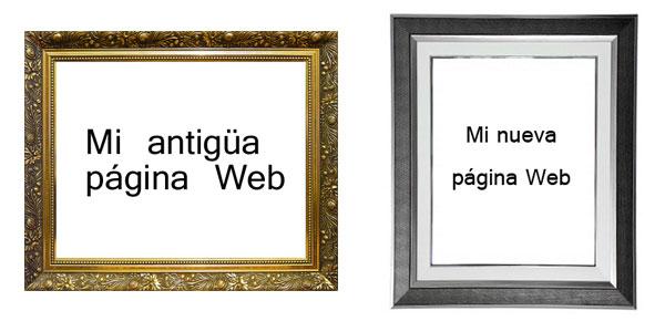 Cambiando de Web