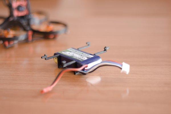 diseño para impresion soporte batería lipo aurora 90